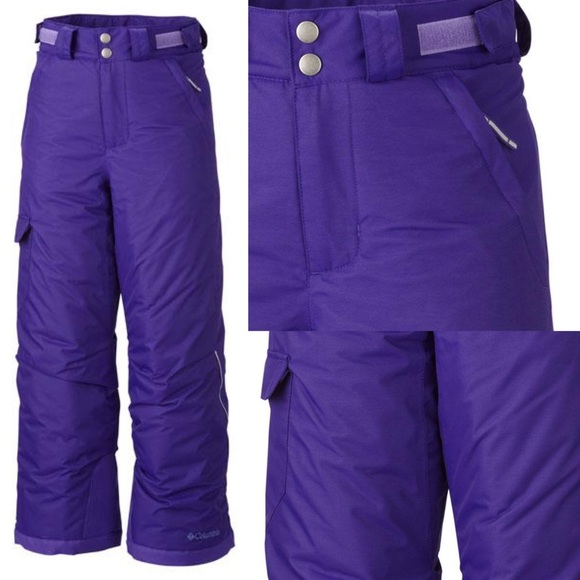 6ab244255 Columbia Bottoms | Bugaboo Kids Snow Pants Ski Pants Purple | Poshmark